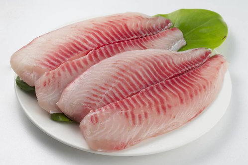 Frozen Tilapia Fillet, Skinless, Boneless 2 lb