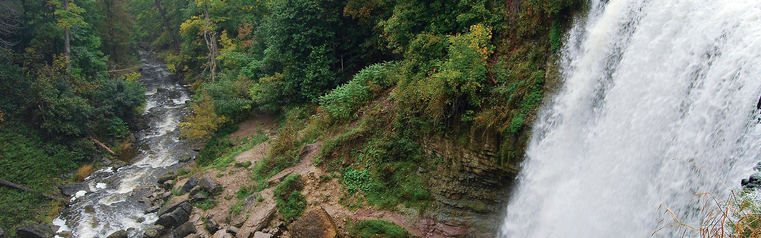 Webster Falls in Dundas Peak