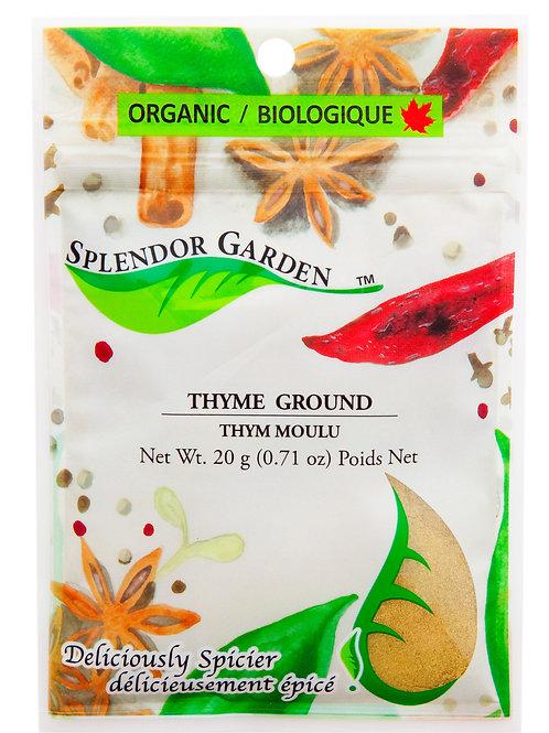 Organic Thyme Ground 20g