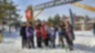 skiing, blue mountain, snowboarding, shuttle, ski bus, winter, canada, snow