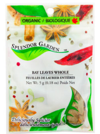 Organic Bay Leaves Whole 5g