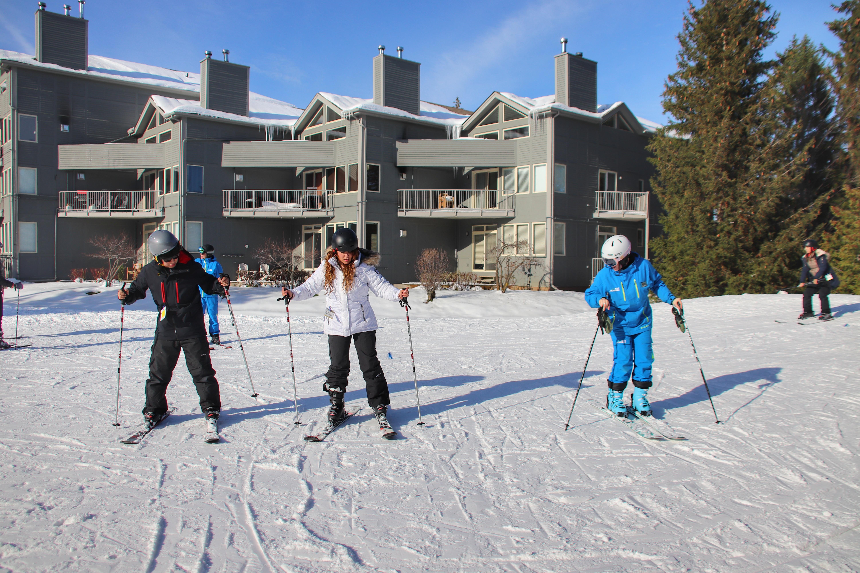 Skiing in Blue Mountain