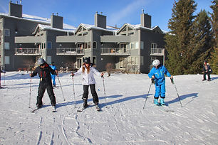 Blue Mountain Beginners Skiing