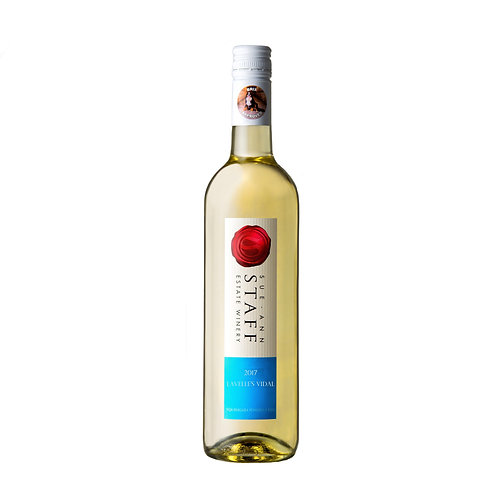 2017 Lavelle's Vidal Sue Ann Staff Winery
