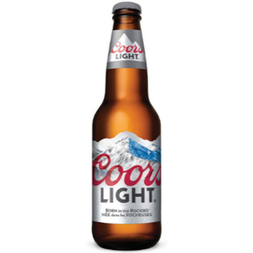 Coors Light 24 x 341 ml Bottle