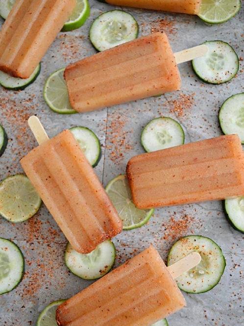 Cucumber Lime & Chile Paletas 4 Pieces