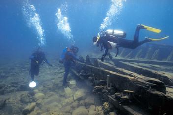 Scuba Diver in Bruce Peninsula