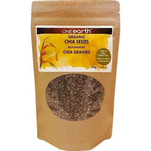 Organic Chia Seeds 368g