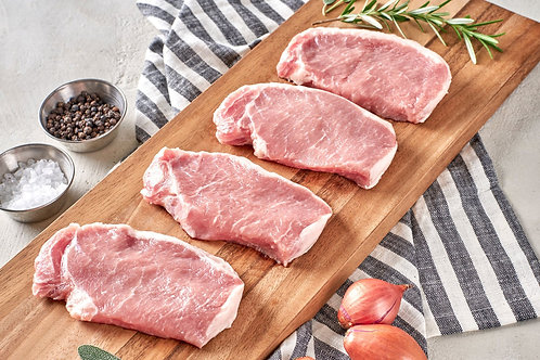 Pork Chop Boneless 8 Pieces