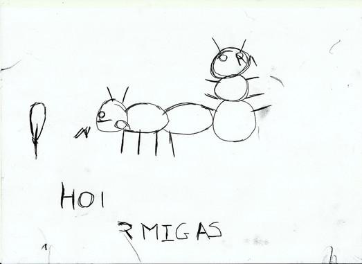 Hormigas, Raquel Abellanas
