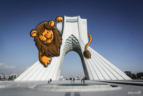 Lion in Tehran