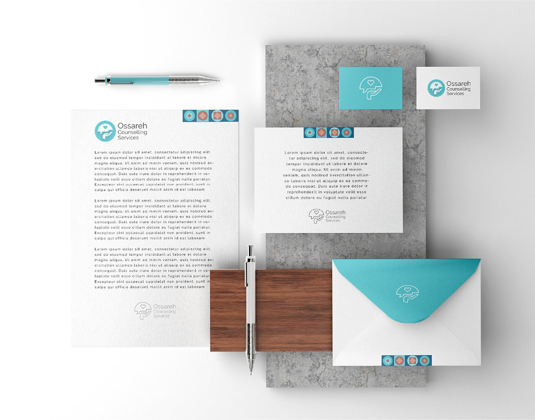 Ossareh Counselling Brand Identity