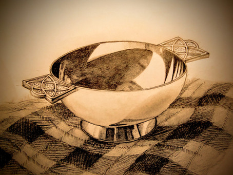 The Quaich Ceremony; supping from Gaelic tradition.