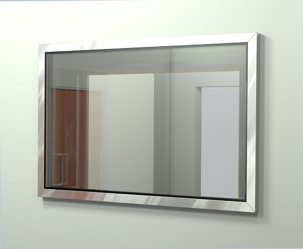 rf shielded window