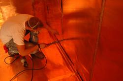 Soldering an MRI RF Shielding room.jpg