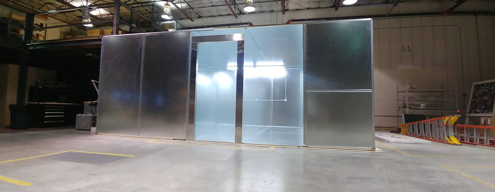 RF Shielded Room with Lights