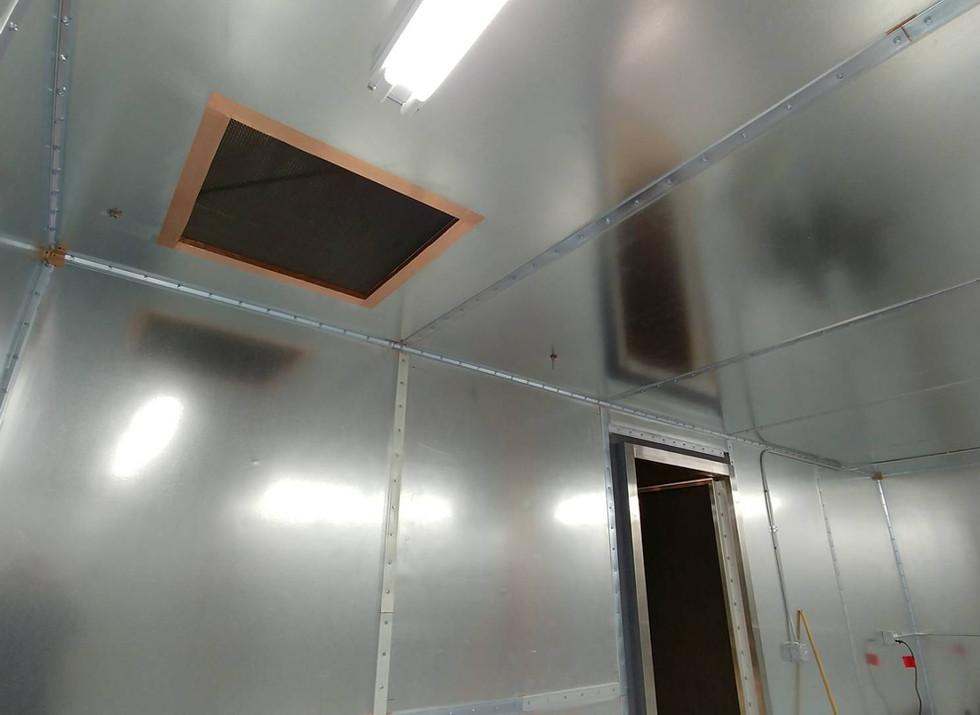 RF Shielded Enclosure HVAC Filter