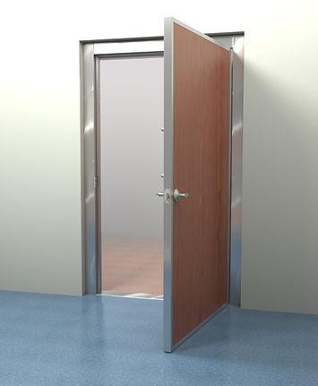 rf shielded door