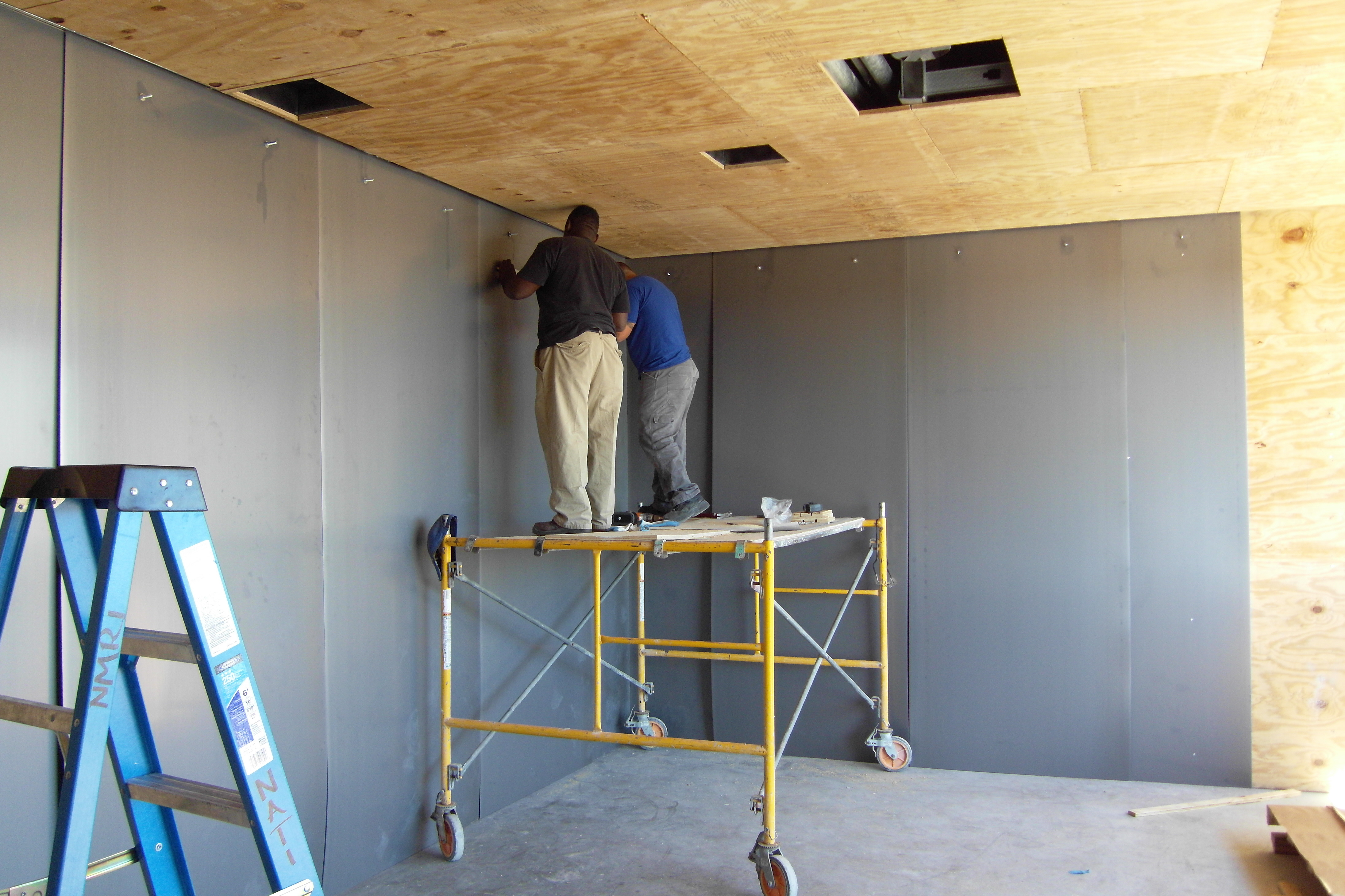 Magnetic Shielding Installation