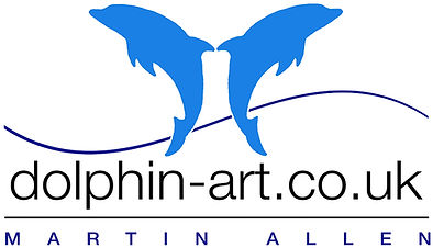 Dolphin Art by Martin Allen