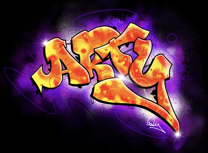 Arty Graffiti