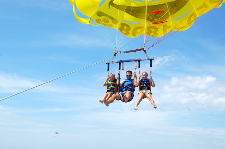 Parasail Triple in Destin!
