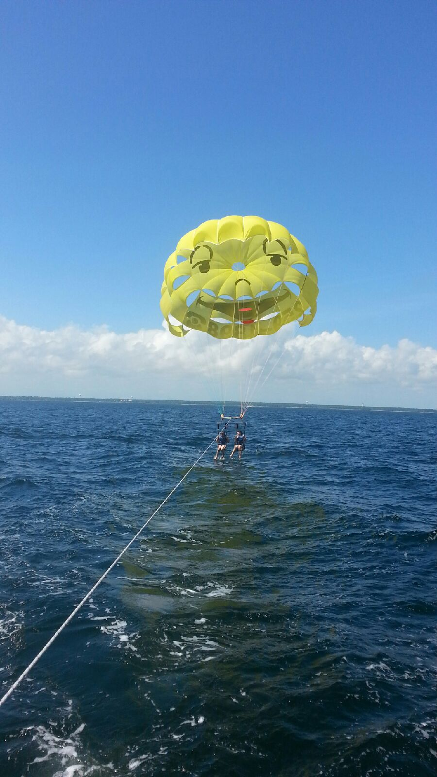 Parasail Dip in Destin