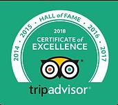 tripadvisor excellent rating