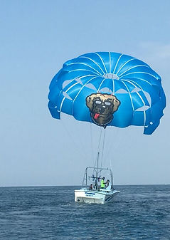 Parasail in Destin Sun Dogs