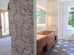 Floral-Wallpaper-Vanity-Install