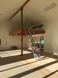 Studio-Stair-Installation