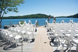 Wedding Setup on Patio