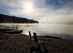 Misty Spring Morning