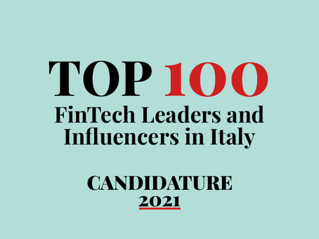 Top 100 FinTech People - Candidature per il 2021