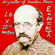 Max Planck, Ink wash 16 x 20, Scientist