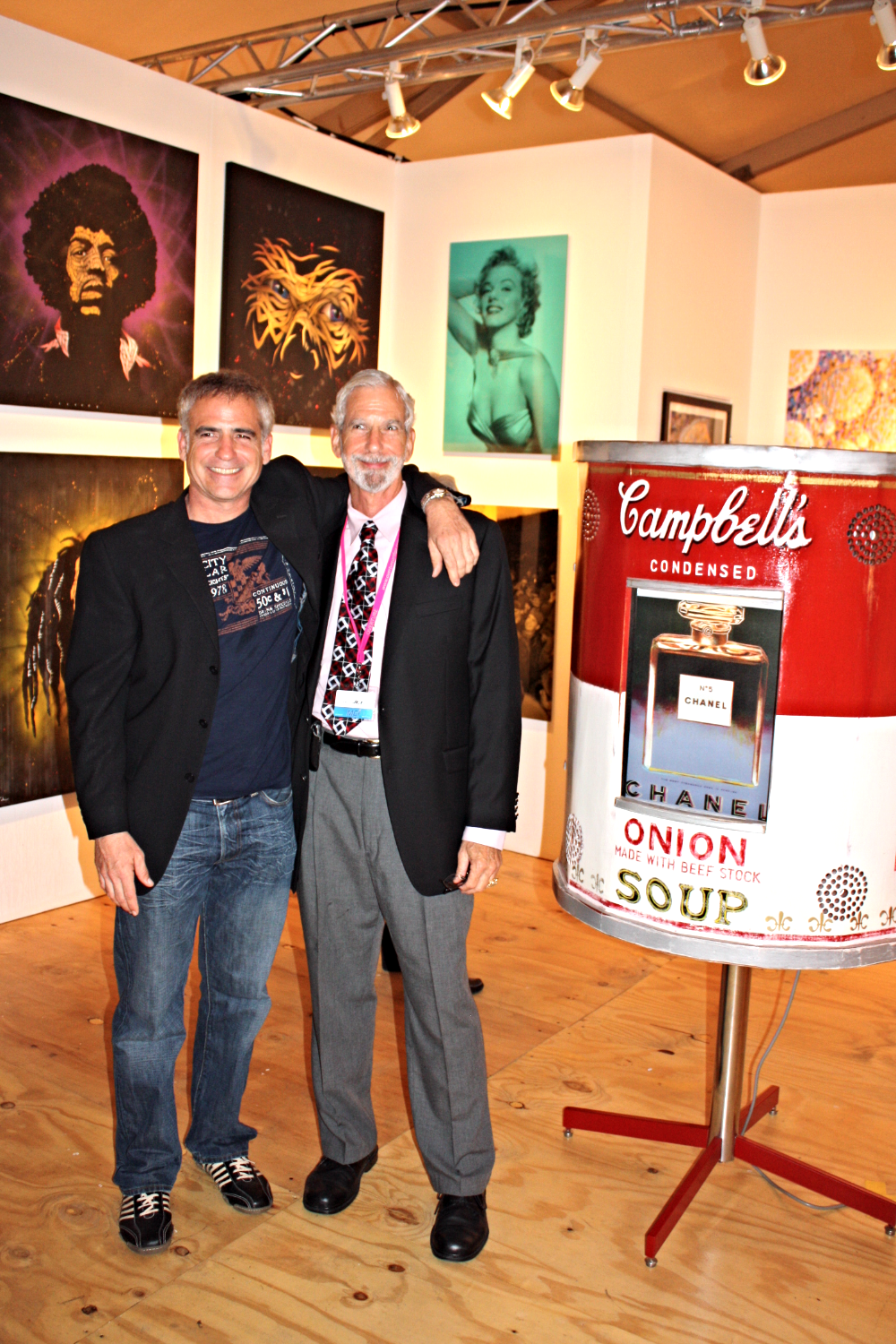 With Steve Steele Overture exhibit