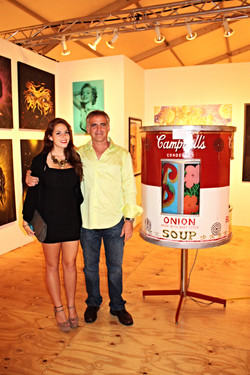 With Courtney Overture Exhibit