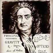 Newton. He was hundreds of years ahead o