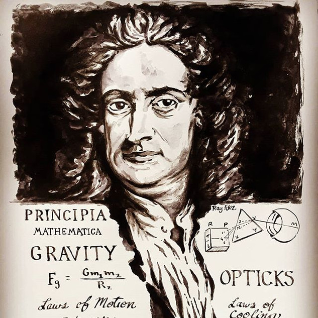 Newton. He was hundreds of years ahead o