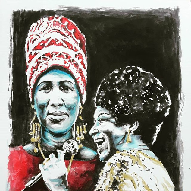 Aretha. I grew up listening to a generat