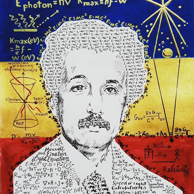 Scientist's and Inventors, Einstein. Und