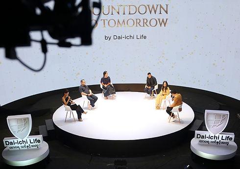 Dai-ichi Life Insurance Myanmar Limitless Tomorrow New Year countdown show