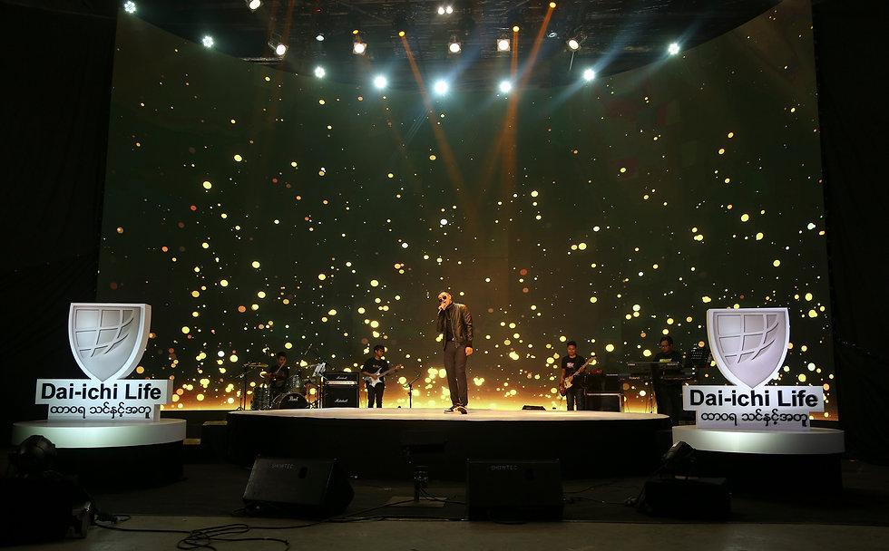 Dai-ichi Life Insurance Myanmar Limitless Tomorrow New Year countdown show (Shwe Htoo performance)