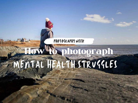 Photographing your own mental health