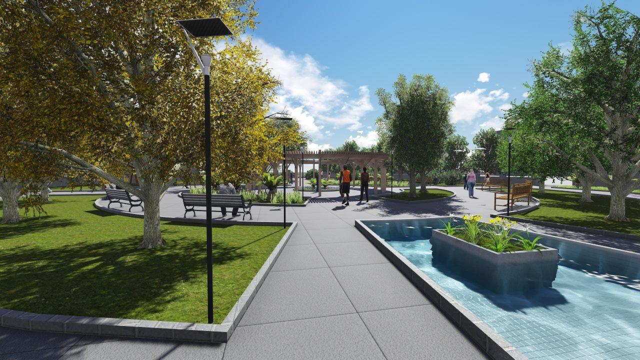 Recreational Park Design Concept