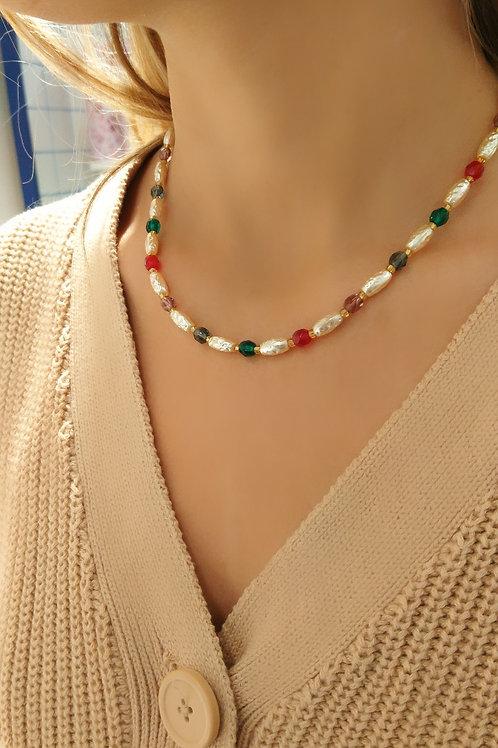 Colliers en perles