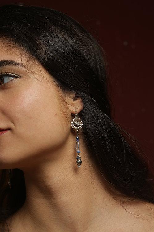 Boucles d'oreilles pendentif acier inoxydable