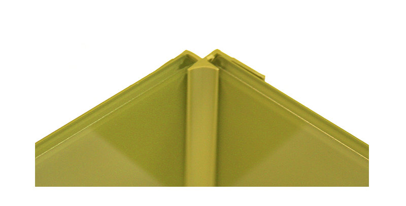 Lustrolite Internal Corner Profile (Choose a size and colour)
