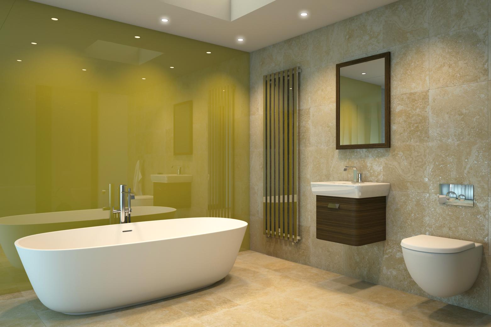 Lustrolite Forest Bathroom Lifestyle-156