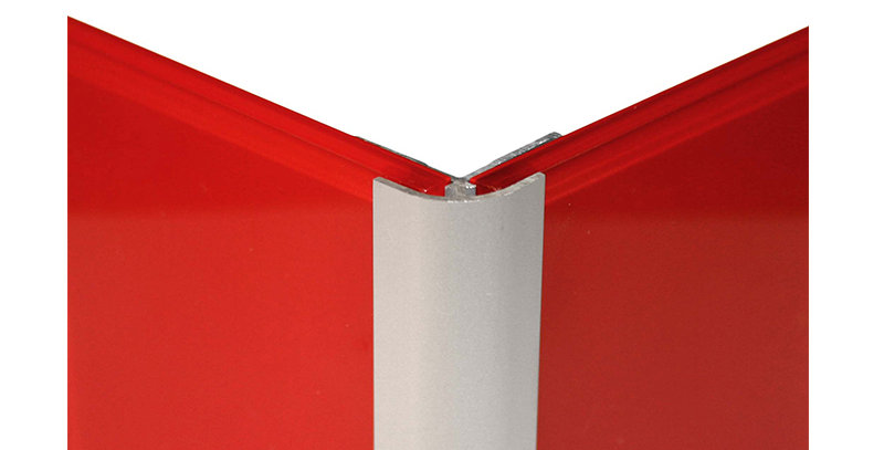 Lustrolite External Corner Profile (Matt Aluminium)